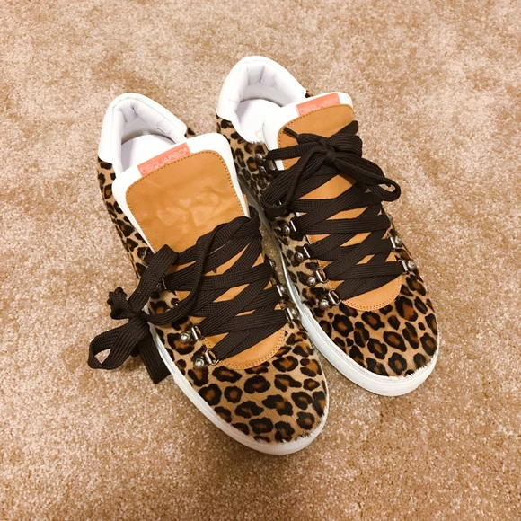 486dd0b6ef7d DSQUARED Shoes | 2 Mens Leopard Pattern Sneakers | Poshmark